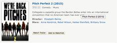 Pitch Perfect II