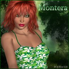 Montera V4 - $2.80 : Montera V4 is a beautiful texture for your virtual doll.  She can be sexy, a warrior, urban vixen or the girl next door. Your imagination is all it takes.     She comes to you with:  5 Eye Textures  3 Eye Lash Options  5 Makeup Options  10 Lip Colors in both Gloss and Mat  Default Mat  Head and body INJ/REM  Tatoo INJ/REM  -------------- Needed Files List and System Required:  Poser 6+  Victoria 4.2  Morphs +++  PC/Mac Compatible  Daz 3+