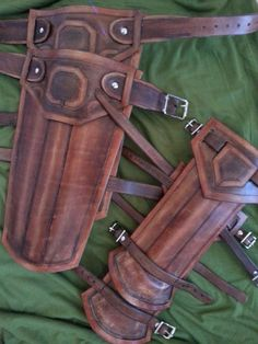 Legend of Zelda : Hyrule Warriors Link Leather Armor Arms & Legs Custom Cosplay #Handmade