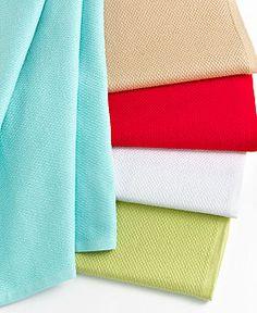 Martha Stewart Collection Pique Kitchen Towels- are these the right ones? Craft Storage Cabinets, Kitchen Storage Hacks, Kitchen Cabinet Storage, Small Bathroom Storage, Kitchen Gadgets, Soft Toy Storage, Bench With Shoe Storage, Towel Storage, Linen Storage