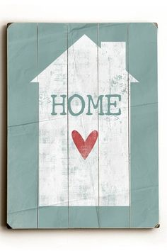 ArteHouse Home Wood Wall Plaque
