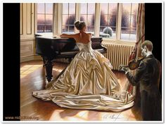 Oil painting by Rob Hefferan.
