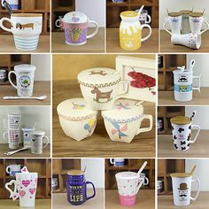 Ceramic novelty tea #coffee cup #drinking mug #accessory valentines birthday gift,  View more on the LINK: http://www.zeppy.io/product/gb/2/281929409502/