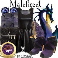 Disneybound Maleficent Sleeping Beauty