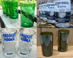 How to make your own drinking glasses. Find directions at homestead and survival.com