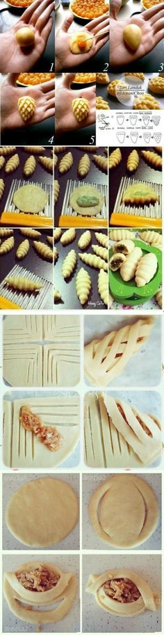 food: Test lessons - Pastry World Easy Pasta Recipes, Cooking Recipes, Bread Shaping, Cuisine Diverse, Bread And Pastries, Dough Recipe, Quiches, Creative Food, Food To Make