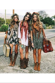 sneakers and pearls, boho look with short dresses and boho leather boots, summer, bohemian style, trending now.jpg