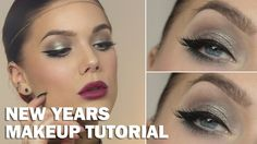 New Years Makeup (with subs) - Linda Hallberg Makeup Tutorials