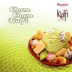 It's time for a taste of traditional sweets. Relish the richness of real Bengali cham cham & fresh fruits with Cham Cham Kulfi! This offer is available in selected cities for a limited period only. Hurry now!