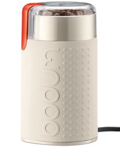 Keep your coffee taste as fresh as the new day with this electric grinder from Bodum. Stainless steel blades and a powerful motor work quickly and efficiently, helping to maximize flavor retention. |