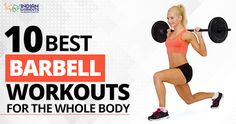 Regular #BarbellWorkouts gradually tear down the muscle tissues and rebuild them stronger. #FatLoss #IndianWorkouts Visit Here:  https://www.indianworkouts.com/full-body-barbell-workouts/