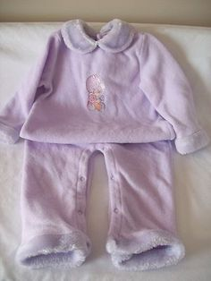 $12.75/FREE *domestic* SHIPPING Precious Moments baby Sleeper Footed Pajamas Size 24 mo's./2T Toddler Girl
