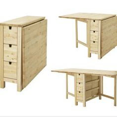 Norden Gateleg Table from Ikea.. I've been lusting after this table since the first time I saw it.
