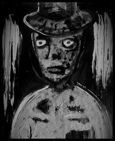 """Portrait of the subconscious"" by Henrico Potgieter  Acrylic paint"