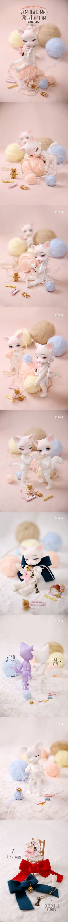 Pipos dolls are so cute! I've seen the real one myself >< #pipos #bjd #animal