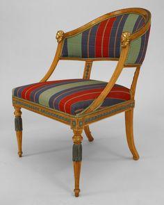 Continental Baltic seating chair/arm chair-pair birch