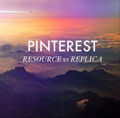 The Nouveau Romantics // Using Pinterest as a Tool
