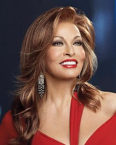 If you like long hair consider Glitterati by Raquel Welch. This wig offers long seductive gently falling layers of waves of silky synthetic Vibralite hair. With glamorous volume and movement Raquel Welch Glitterati wigs feature a natural looking hairline with off the face styling options. Free Shipping in the US. Our Price: $228.00