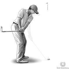 Focus on bringing the clubhead back and towards you during the takeaway so that when the shaft is parallel to the ground, the butt end of the grip is pointing to the right of the target. This is in contrast to seeing the butt end point straight at the target or to the left of it. Golf Clubs For Beginners, Golf Baby, Cute Golf Outfit, Cobra Golf, Golf Pictures, Golf Club Sets, Golf Exercises, Golf Lessons, Golf Accessories
