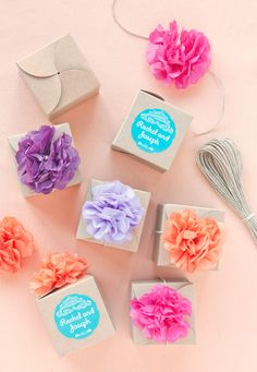 5 Ways To Style Kraft Favor Boxes