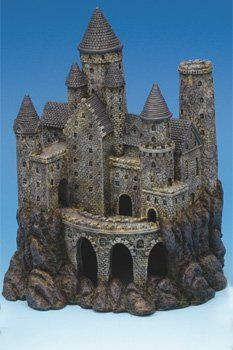 ♥ DIY Pet Stuff ♥ No matter what kind of super spiffy pet products you need, we've got you covered. Here we have: a lovely castle for your fishes to enjoy! We all want that lovely aquarium, so here is a beautiful tank decoration to make it so!