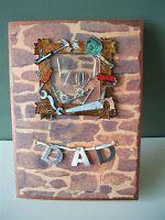 DZ Doodles Digital Stamps: DZ Doodles; Crochet Embellished Cards, Treat Jar, Stitch Piercer, Dad Cards, Bingo Fun, Dad Shaker Card