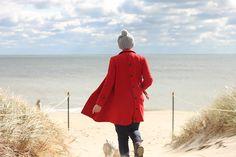 dream red coat!