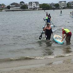 And they're back! #aztekpaddles #supracing #paddleboarding #wrightsvillebeach #supcarolinacup