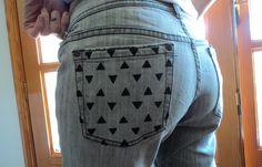 pantalón vaquero DIY