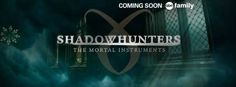 The ABC Family network announced that Shadowhunters is set to premiere in early 2016. Hooray CASSANDRA CLARE!! # The Mortal Instruments, #tv