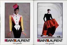 Yves Saint Laurent fw 1988