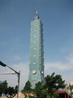 Why Taipei 101 is the coolest skyscraper on the planet #taiwan #travel #skyscrapers