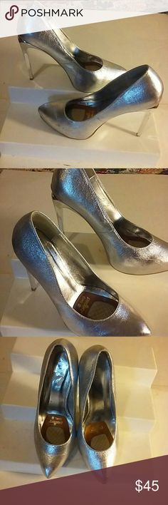 After five high fashion. Shoes From pedag girl size 10 silver\with silver heels Shoes