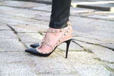 Valentino Rockstud shoes. I am in LOVE :))) #crazyobsessed #newlove #cantlivewithout