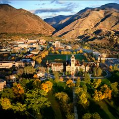 Utah State University YAY!! 98-00--lived here D went here:)
