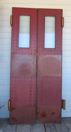 "Double Studded Swinging Doors 34"" x 76"" x 1 1/2"""