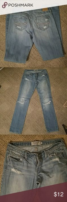 Selling this Abercrombie and Fitch jeans on Poshmark! My username is: deenaskim. #shopmycloset #poshmark #fashion #shopping #style #forsale #Abercrombie & Fitch #Denim