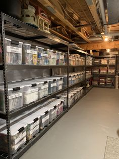 My friends basement organization is something else : oddlysatisfying – Garage Organization DIY Garage Organization Tips, Storage Room Organization, Diy Garage Storage, Storage Area, Storage Room Ideas, Storage Hacks, Garage Storage Solutions, Workshop Storage, Organizing Ideas
