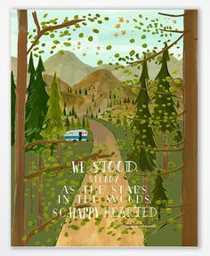 Ben Howard Art Print 11 x 14Old Pine Quote by firstsnowfall, $46.00