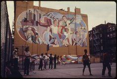 16/02/2013  Basketball playground in Brooklyn 1974