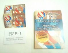 Impresión de tarjetas de visita & flyers