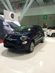 Sanjay Salomon snapped one of the first pics we found of the new 2016 FIAT 500X here in Boston at the #BostonAutoShow