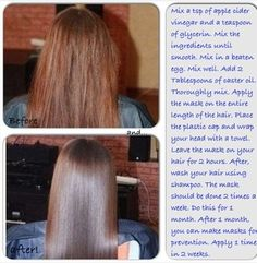 Turn Frizzy Dry Damaged Hair Into Smooth Silky Hair In Home