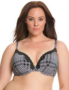 plus size lingerie bra | ifhuc | pinterest | mesh band and plunge bra