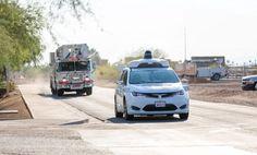 Los coches autónomos aprenderán a reconocer a los vehículos de emergencia