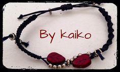 Macrame bracelet,women boho bracelet,winter leaf bracelet,silver beads,ceramic leaf.