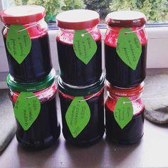 #mojeprzetwory #dżemzczarnejporzeczki #słoiczki #blackberryjam #preserve #yummy