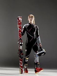 Mikaela Shiffrin - U.S. alpine ski racer. I know someone who skiied with her!!