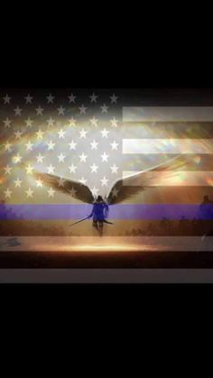 Makes me think of the angels God assigned to guard the Garden of Eden when man was thrown out. Thin Blue Line Wallpaper, Lines Wallpaper, Thin Blue Line Flag, Thin Blue Lines, Police Officer Wife, Police Quotes, Blue Jeep, Police Life, Patriotic Decorations