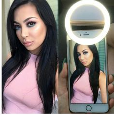 Selfie Ring Light For Perfect Phone Lighting Mobile Accessories, Camera Accessories, Cell Phone Accessories, Women Accessories, Insta Ring, Led Selfie Ring Light, Ring Lamp, Accessoires Photo, Continuous Lighting